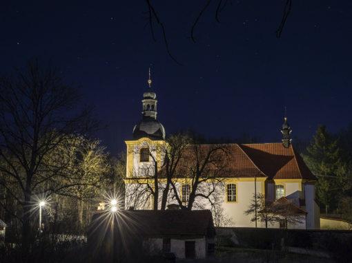 Kostel sv.Bartoloměje, Všeradice
