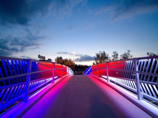 Most pro pěší, Králův Dvůr