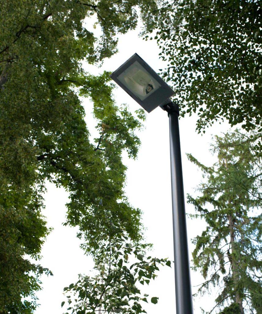 Realizace veřejného osvětlení v královské oboře Stromovka, která proběhla v roce 2018.